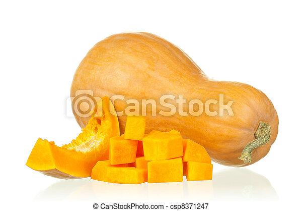 Fresh pumpkin - csp8371247