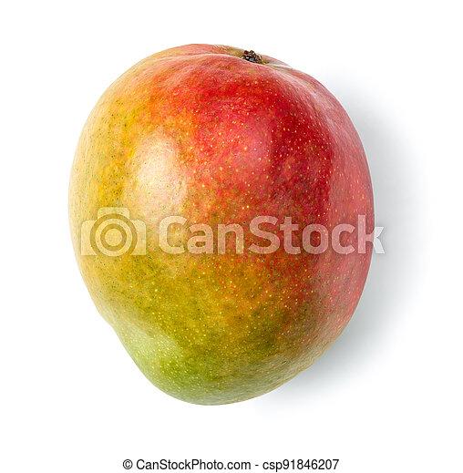 fresh raw colorful mango - csp91846207