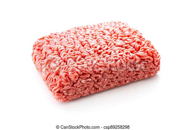 Fresh, raw minced meat - csp89258298