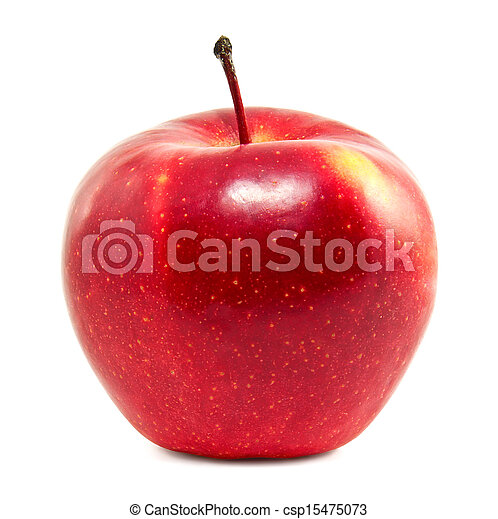 Fresh red apple - csp15475073