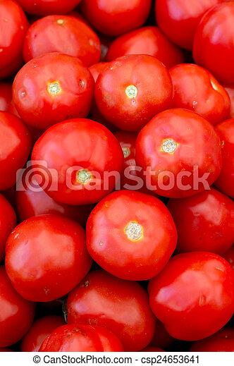Fresh red tomatoes - csp24653641