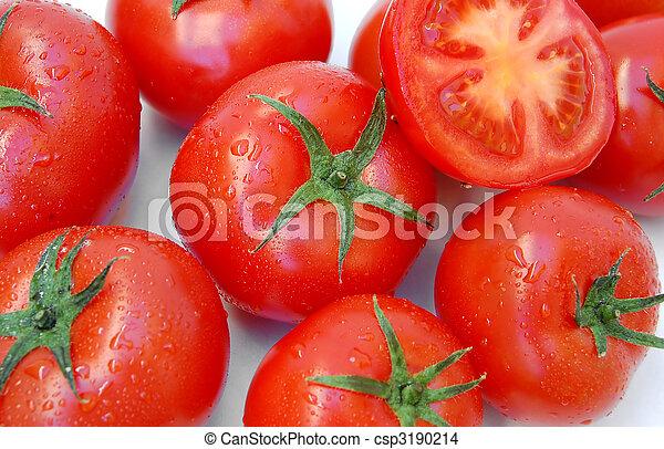 fresh red tomatoes - csp3190214