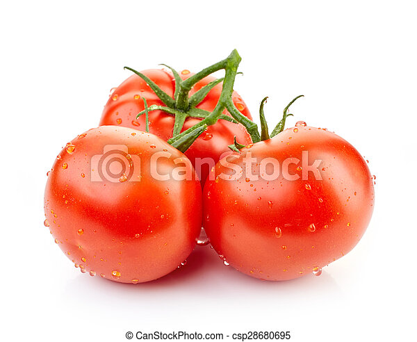 fresh red tomatoes - csp28680695