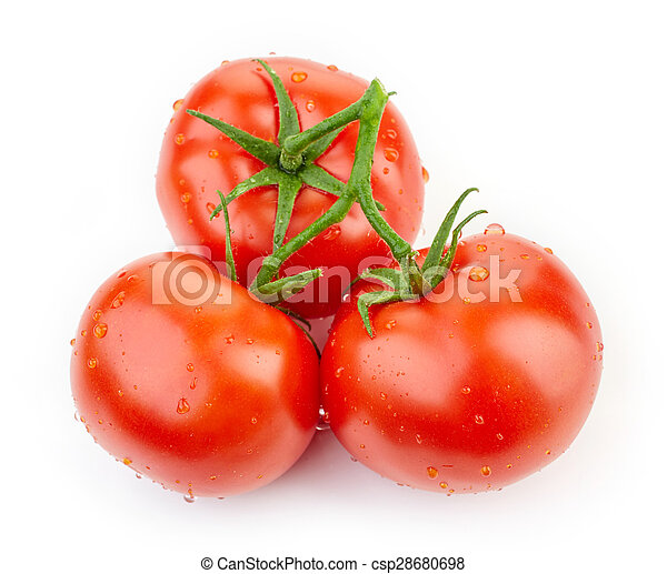 fresh red tomatoes - csp28680698