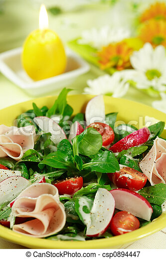 Fresh salad - csp0894447
