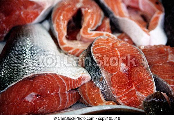 Fresh salmon - csp3105018
