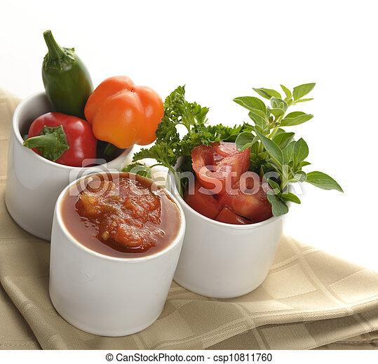 Fresh Salsa - csp10811760