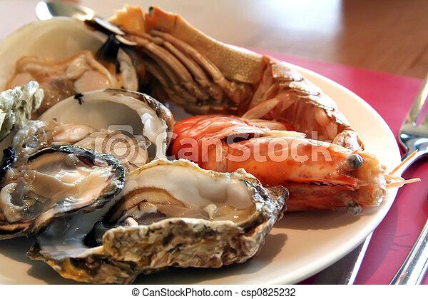 Fresh seafood - csp0825232
