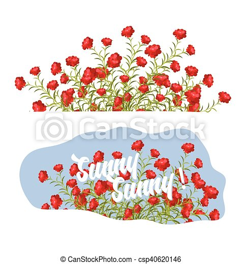 Fresh spring flowers vector illustration eps vector search clip fresh spring flowers csp40620146 mightylinksfo