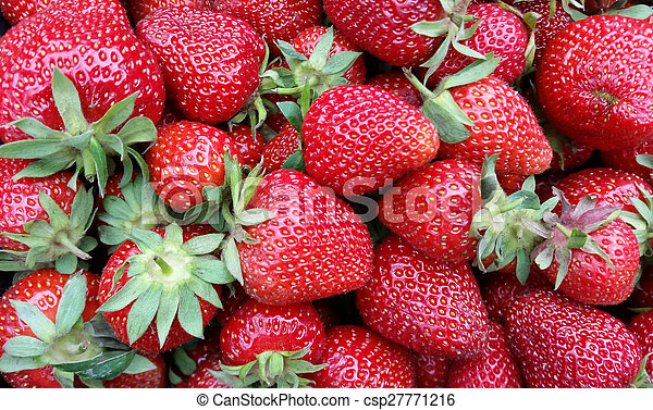 fresh strawberries 2 - csp27771216