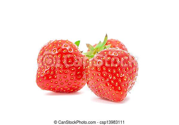 fresh strawberry - csp13983111