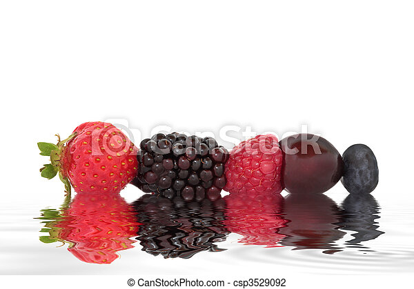 Fresh Summer Fruit - csp3529092