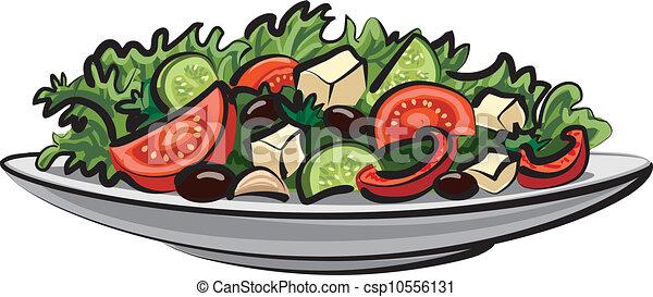 fresh vegetable salad  - csp10556131