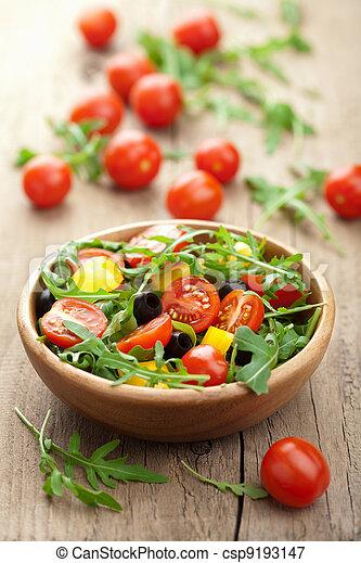 fresh vegetable salad - csp9193147