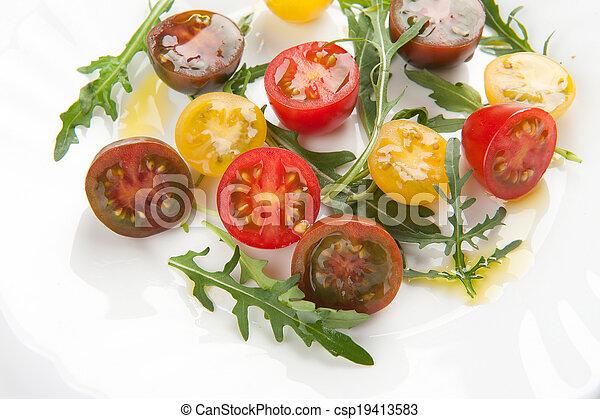 fresh vegetable salad - csp19413583