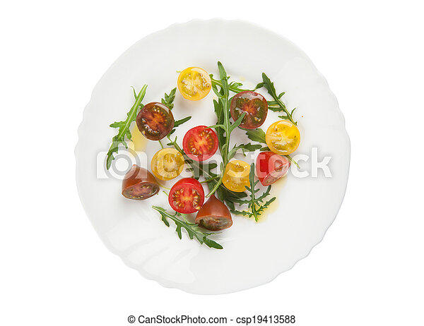 fresh vegetable salad - csp19413588