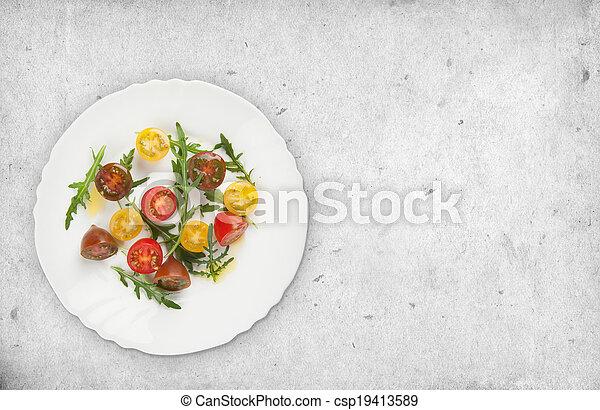 fresh vegetable salad - csp19413589