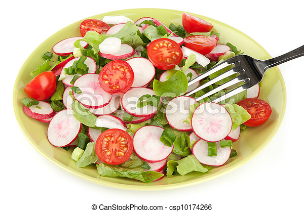 fresh vegetable salad - csp10174266