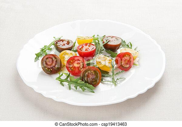 fresh vegetable salad - csp19413463
