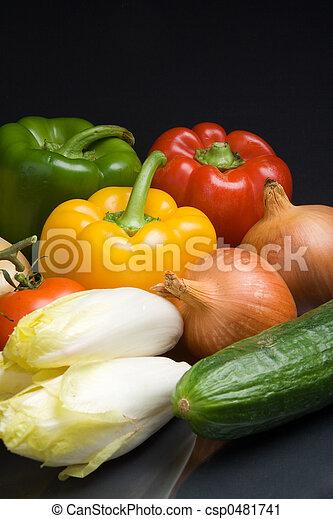 Fresh vegetables - csp0481741