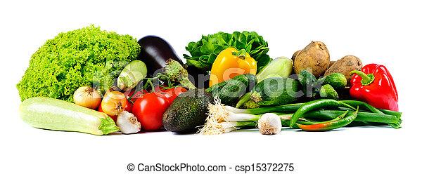 fresh vegetables - csp15372275