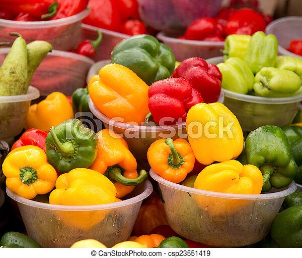 fresh vegetables - csp23551419