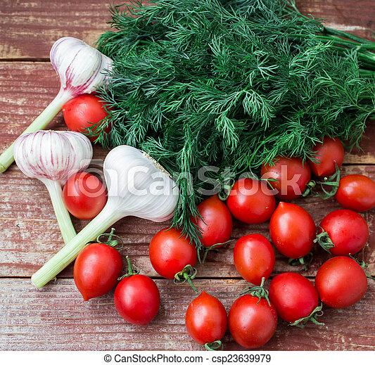 fresh vegetables - csp23639979