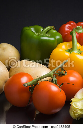 Fresh vegetables - csp0483405