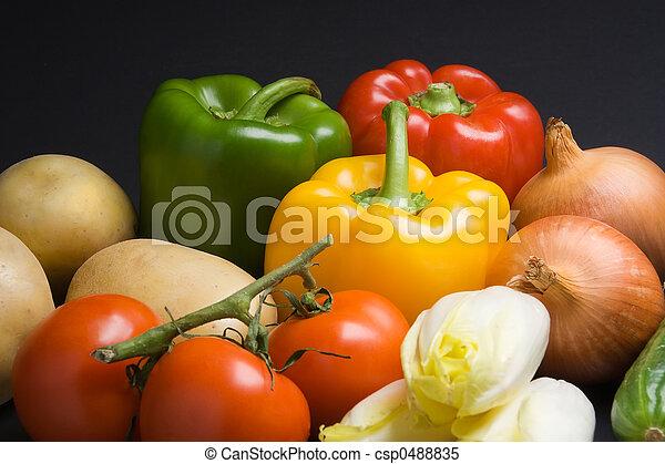 Fresh vegetables - csp0488835
