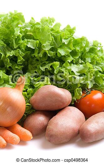 Fresh vegetables - csp0498364