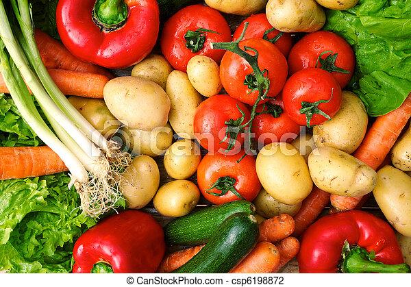 fresh vegetables - csp6198872