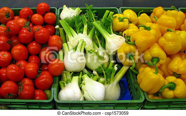 Fresh vegetables - csp1573059