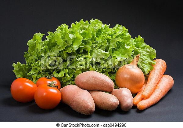 Fresh vegetables - csp0494290