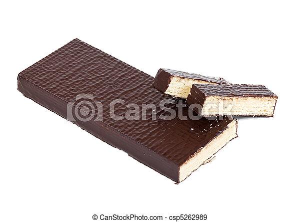 Fresh waffle cake - csp5262989