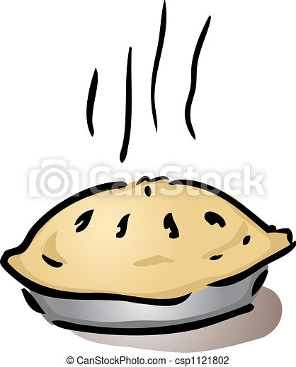 fresh whole pie fresh hot whole pie in pan cooling off clip rh canstockphoto com clipart pencils clip art pie slices