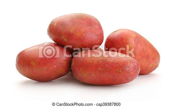 Fresh whole potatoes - csp39387800