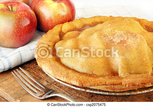 Freshly Baked Apple Pie - csp2075475