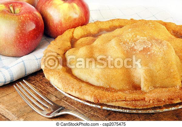 Freshly Baked Apple Pie - csp2075475
