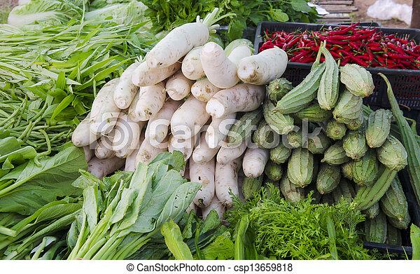 freshness vegetables - csp13659818