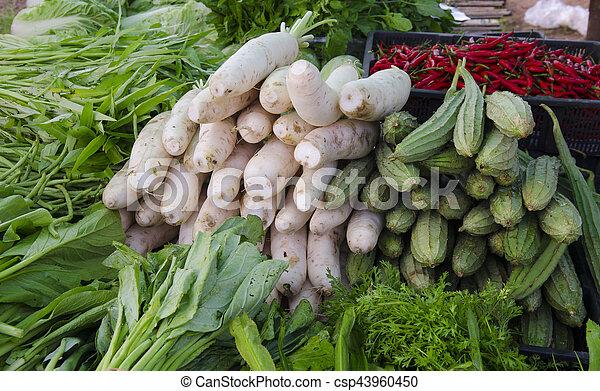 freshness vegetables - csp43960450
