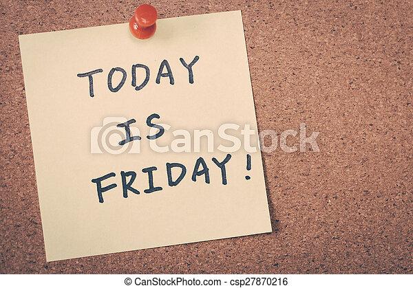 Friday - csp27870216