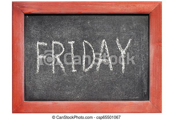 Friday - csp65501067