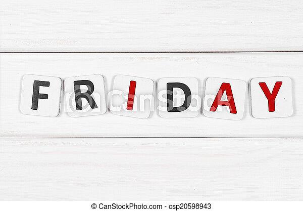 Friday - csp20598943