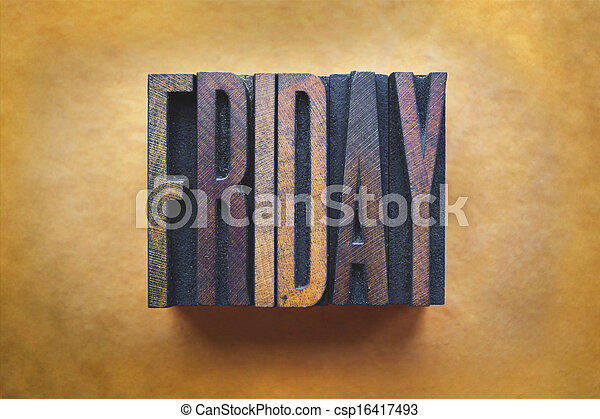 Friday - csp16417493