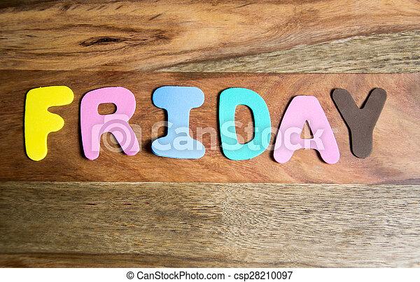 Friday - csp28210097