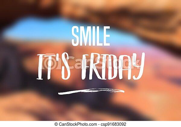 Friday - csp91683092