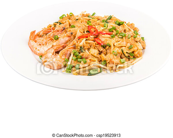 Fried Char Kway Teow - csp19523913