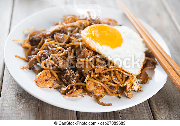 Fried Char Kway Teow - csp27083683