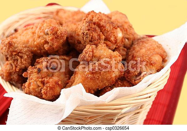 fried chicken 2 - csp0326654
