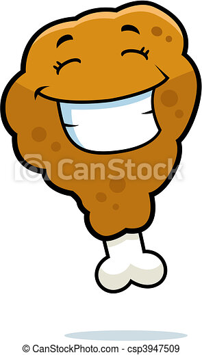 fried chicken smiling a cartoon fried chicken drumstick smiling and rh canstockphoto com cartoon fried chicken images cartoon fried chicken wallpaper